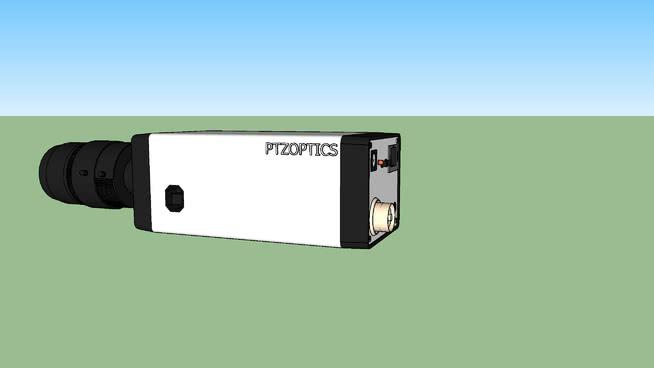 可變焦距鏡頭盒相機SU模型【ID:239609216】