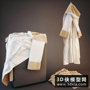 衣服服裝組合國外3D模型【ID:929854666】