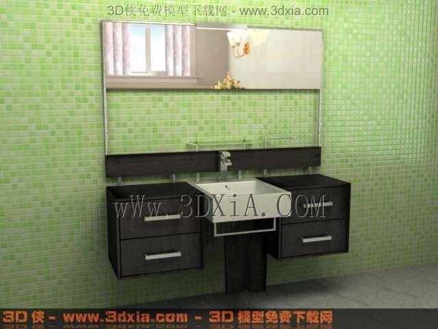 浴柜213D模型【ID:33603】