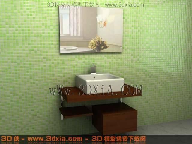 浴柜63D模型【ID:33616】
