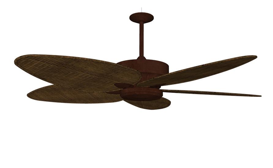 吊扇SU模型【ID:736362868】