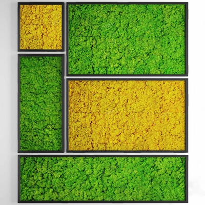 现代绿植墙3D模型【ID:126230839】