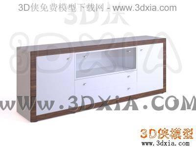 柜子-3DMAX9-Hülsta3D模型【ID:34490】