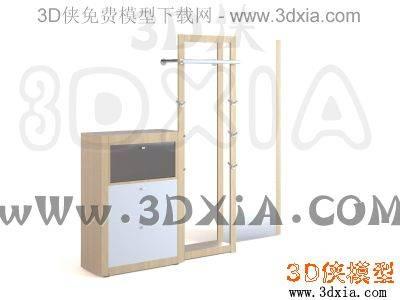 柜子-3DMAX9-Hülsta3D模型【ID:34491】