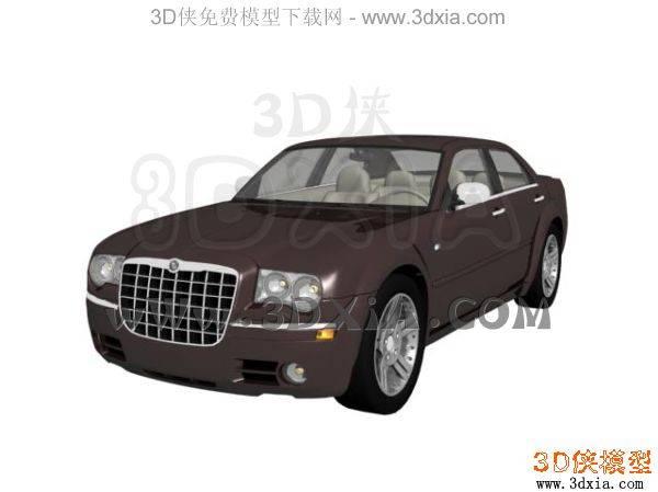 汽车-3DMAX8-Chrysler3D模型【ID:34606】