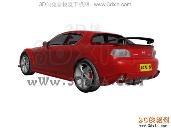 汽车-3DMAX8-Mazda3D模型【ID:34609】