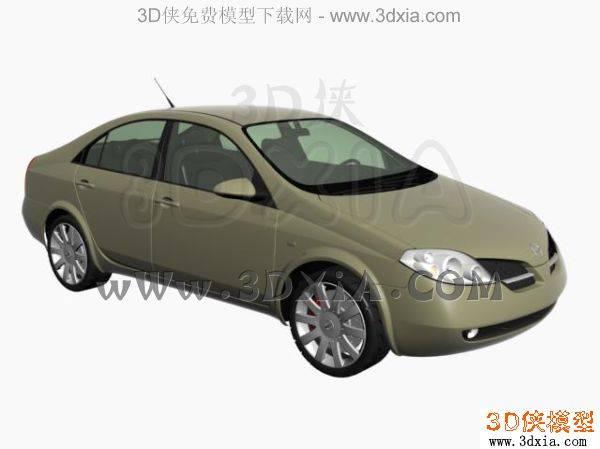 汽车-3DMAX8-Nissan3D模型【ID:34613】