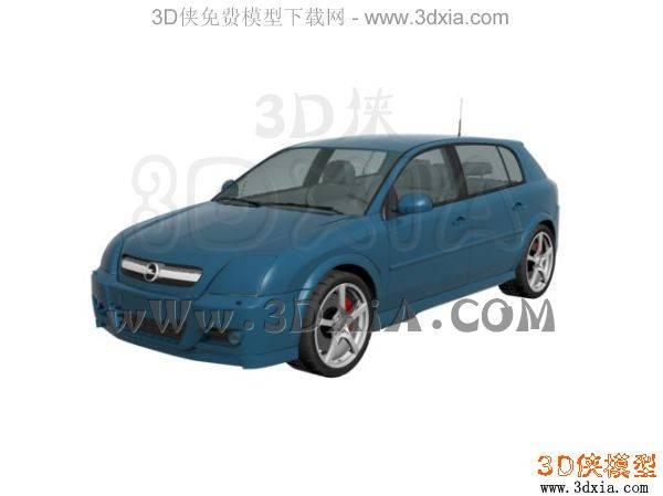 汽车-3DMAX8-Opel3D模型【ID:34614】