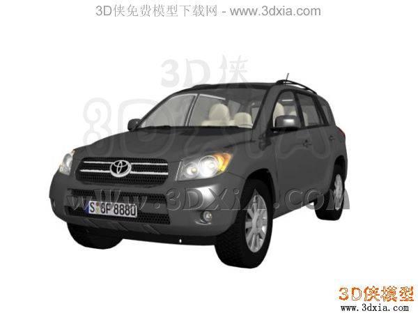 汽车-3DMAX8-Toyota3D模型【ID:34619】
