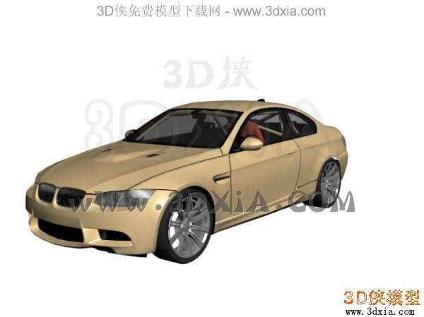 汽车-3DMAX8-bmw_m3e923D模型【ID:34620】