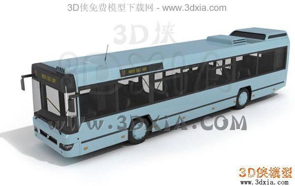 汽车-3DMAX9-bus013D模型【ID:34627】