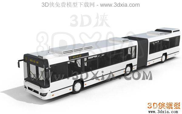 汽车-3DMAX9-bus033D模型【ID:34629】