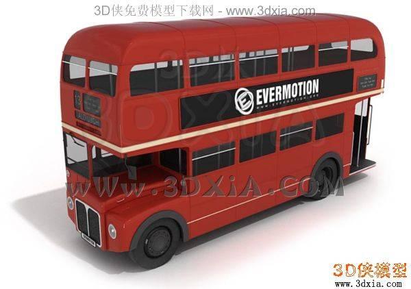 汽车-3DMAX9-bus053D模型【ID:34631】