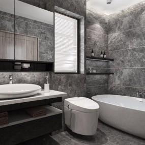 现代卫浴用品3D模型【ID:127862786】