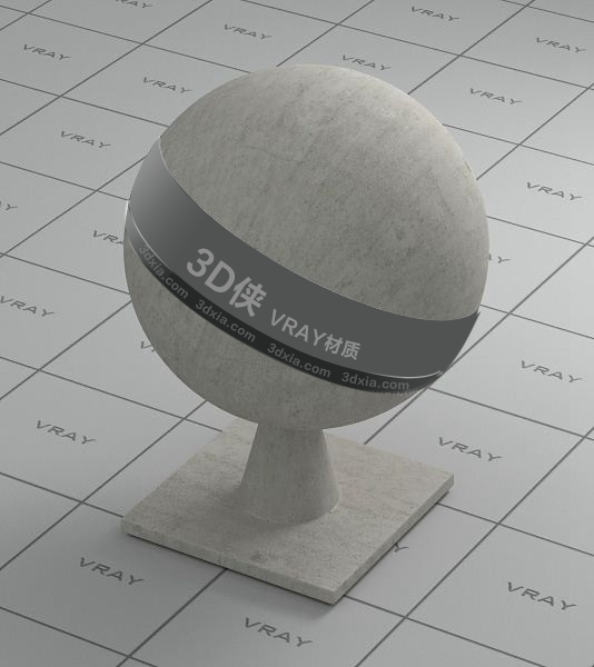 灰色墻布Vray材質【ID:736429499】