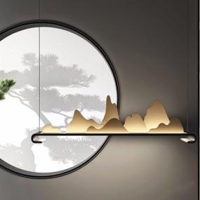 新中式吊灯3D模型【ID:528020807】