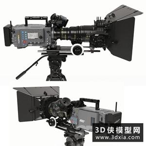 摄影机模型国外3D模型【ID:229309010】