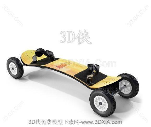 3D體育模型下載-版本3D2008-123D模型【ID:35627】