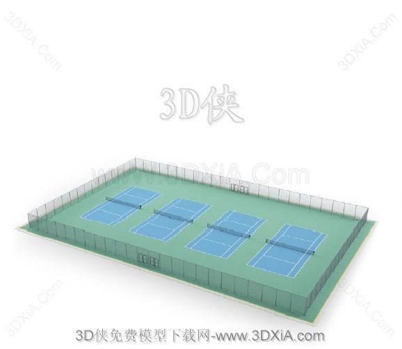 3D体育模型下载-版本3D2008-173D模型【ID:35632】