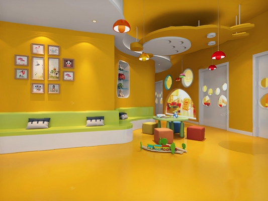 现代幼儿园3D模型【ID:720602646】