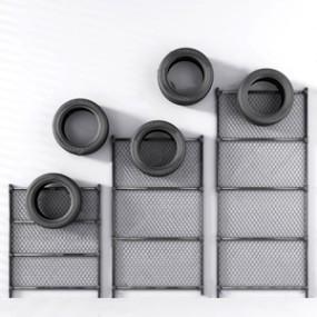 工业风铁丝网轮胎墙饰3D模型【ID:420804909】