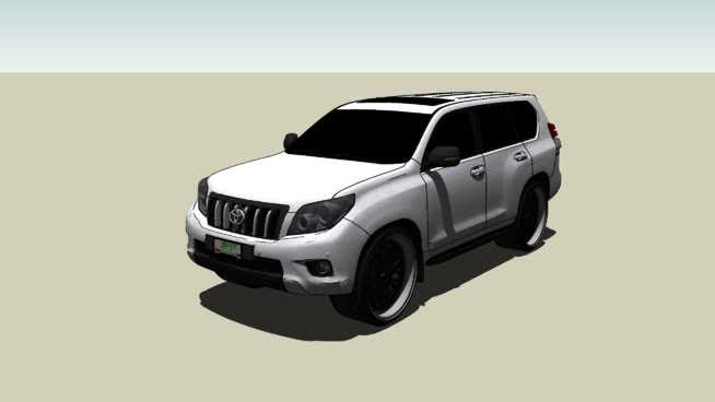 旅行轎車SU模型【ID:437668995】