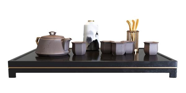 新中式茶具3D模型【ID:246260593】