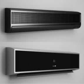 现代挂式空调3D模型【ID:127753484】