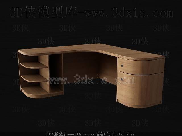 接待台3D模型下载-C60-版本max8【ID:36757】