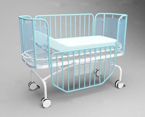 现代铁艺婴儿病床3D模型【ID:36863814】