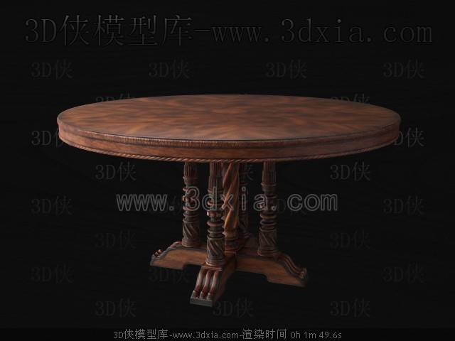 桌子下载-C78-版本max20093D模型【ID:36868】