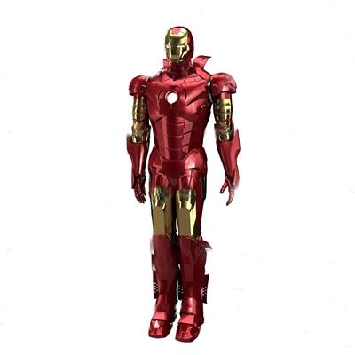 现代钢铁侠3D模型【ID:36884946】