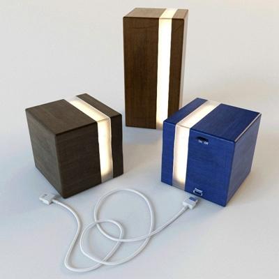 现代简约台灯音响国外模型3D模型【ID:36892411】