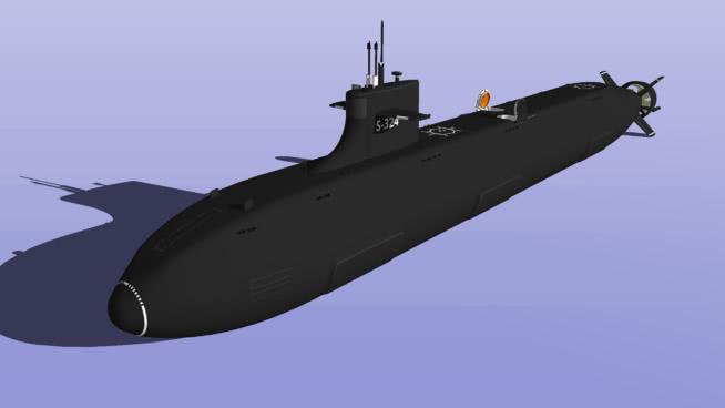 聚變動力多用途潛艇SU模型【ID:839625439】