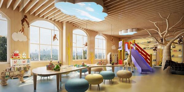 現代幼兒園3D模型【ID:941981603】