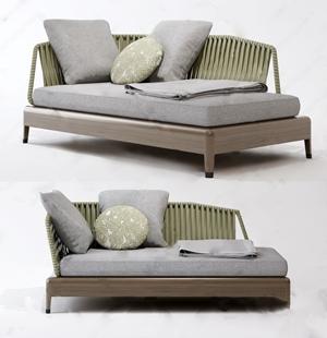 北歐休閑椅3D模型【ID:642043967】