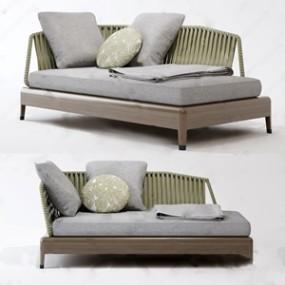 北欧休闲椅3D模型【ID:642043967】
