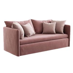 現代簡約雙人沙發3D模型【ID:931410710】