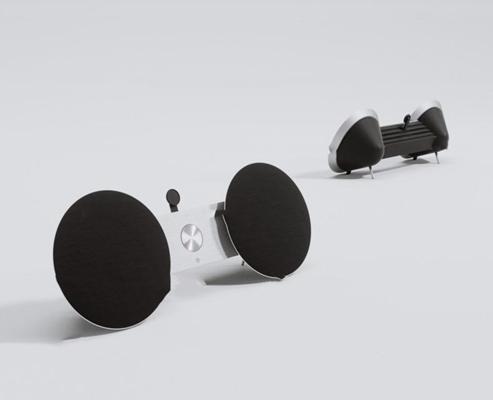 现代音响3D模型【ID:37025414】