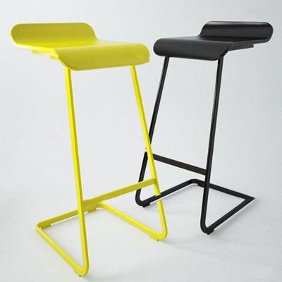 现代极简吧台椅3D模型【ID:37036711】