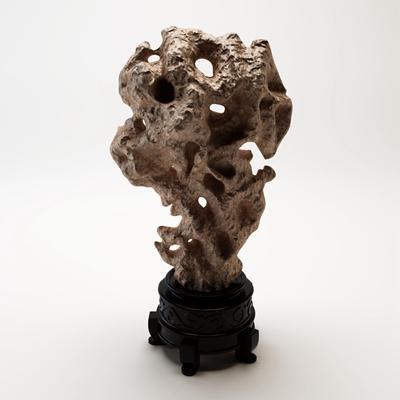 中式石雕摆件3D模型【ID:37056088】