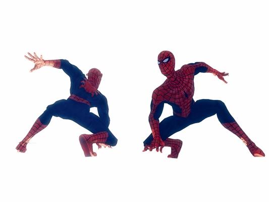 现代蜘蛛侠3D模型【ID:37058844】