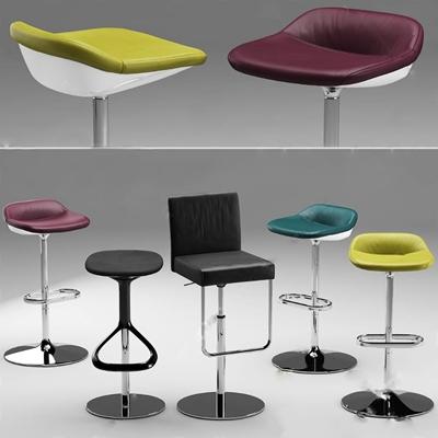 吧椅3D模型【ID:37084713】
