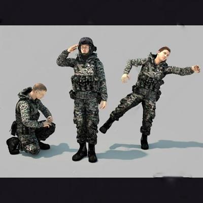 士兵3D模型【ID:37088049】