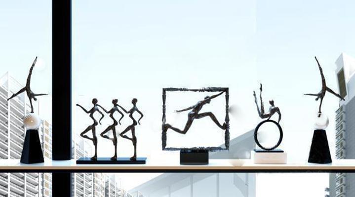 雕塑3D模型【ID:37095183】