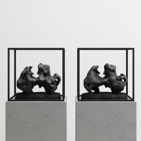 现代石头雕塑摆件365彩票【ID:37174589】