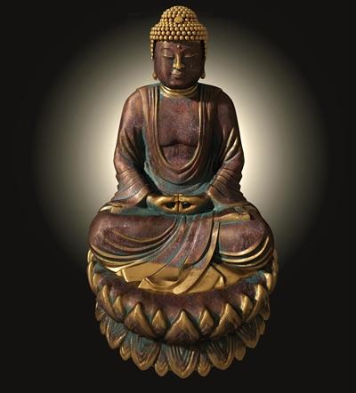 中式佛像雕塑3D模型【ID:37231784】