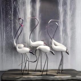 丹顶鹤雕塑摆件3D模型【ID:928348183】