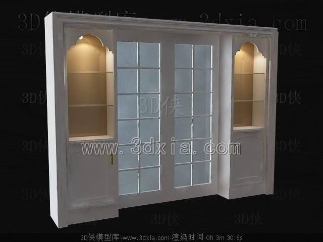 门3D模型-版本2009-496【ID:38411】