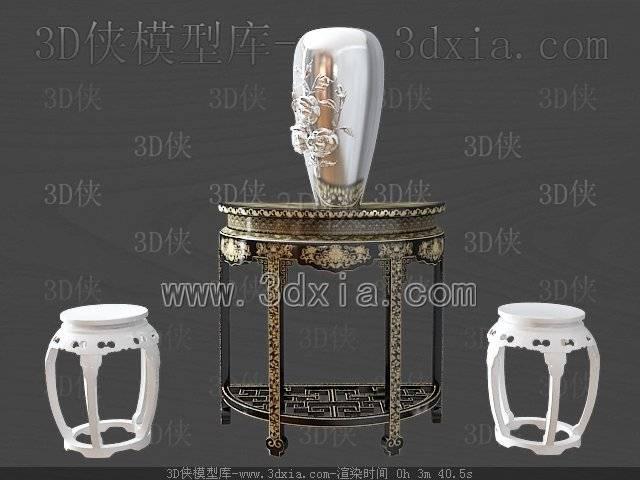 其它桌子-3dmax2009-2893D模型【ID:38525】